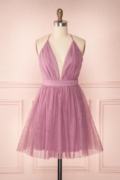 Short promenade long dresses due to the ensemble outlet maximum influence for prom. Pink Prom Dresses, Dresses For Teens, Little Dresses, Purple Dress, Homecoming Dresses, Pretty Dresses, Beautiful Dresses, Semi Dresses, Lila Outfits