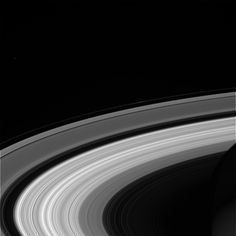 Cassini captured this view of Saturn's rings on Sept. 13, 2017. - Credit: NASA/JPL-Caltech/Space Science Institute