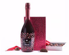 Swiss Colony Truffles & Bubbles Gift Set - Gourmet Gift Basket