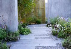 Paul Hervey-Brookes, Gardening World Cup, Japan 2014 Outdoor Paving, Garden Paving, Garden Stones, Garden Paths, Garden Landscaping, Back Gardens, Small Gardens, Outdoor Gardens, Landscape Elements