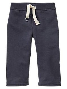 Fleece knit pants