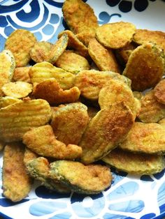 Fried Pickles... hello yumminess.