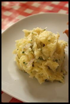Salade de pomme de terre tiède à l'Alsacienne