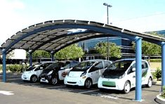 First Solar-Powered Electric Car Charging Stations Open in Sofia, Bulgaria | Inhabitat - Sustainable Design Innovation, Eco Architecture, Green Building