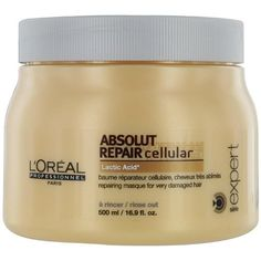 cool L'Oreal Professionnel Serie Expert Absolut Repair cellular with Lactic Acid, 16.9 oz.