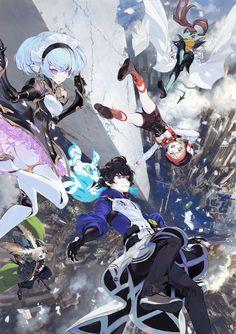 スマートフォン向けゲームアプリ『クロス×ロゴス』公式サイト - 事前登録受付中 Gothic Anime, Anime Fantasy, Fantasy Art, Character Concept, Character Art, Concept Art, Persona Anime, Character Design Animation, Anime Artwork