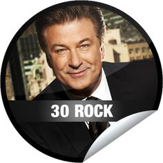 30 Rock: Kidnapped By Danger... You'll be kidnapped by Alec if you miss out on this sticker from GetGlue.com