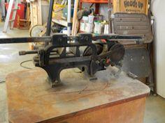 Old power hacksaw