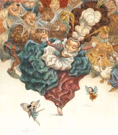 Peter de Seve. Rapidly becoming one of my favorite illustrators.