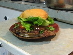 Pork Burgers with a Crunch