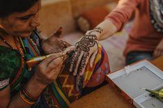 orientalische Hochzeit in Indien