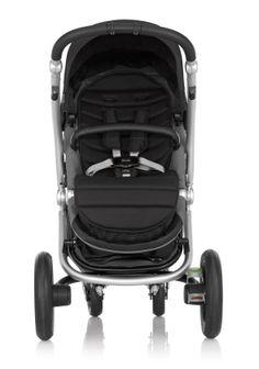 Britax Affinity Stroller in Black with reversible seat #custom #sleek #baby