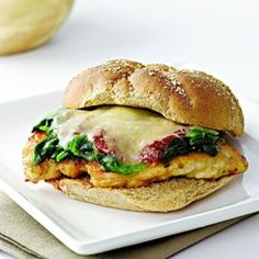 Chicken Parmesan Sub - EatingWell.com