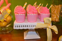 Pink Lemonade Birthday Party Ideas | Photo 31 of 34 | Catch My Party