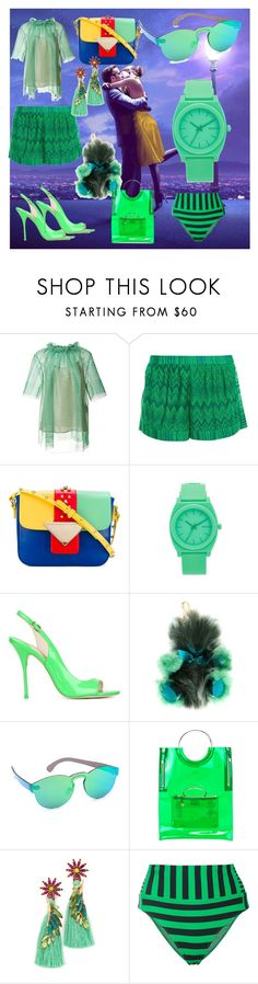 """style look"" by denisee-denisee ❤ liked on Polyvore featuring STELLA McCARTNEY, Missoni, Sara Battaglia, Nixon, Sophia Webster, Burberry, RetroSuperFuture, Toga, Elizabeth Cole and vintage"