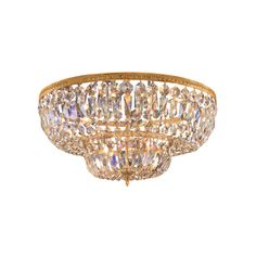 CRYSTORAMA 724 RICHMOND 24 INCH SEMI-FLUSH MOUNT CEILING LIGHT