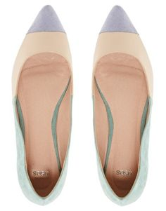 Enlarge ASOS LINGO Ballet Flats - These are vibing the 90s, better keep my eyes out for a similar pair on Etsy or a thrift store!