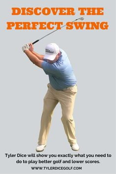 Discover the Perfect Swing - Find Out Exactly What You Need To Do To Pay Better Golf & Lower Scores