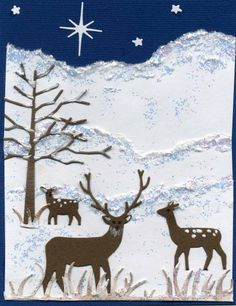 Cold Winter's Night by abuist - Cards and Paper Crafts at Splitcoaststampers