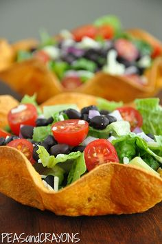 Taco Salad Your Face Off! [or something like that] - Peas And Crayons