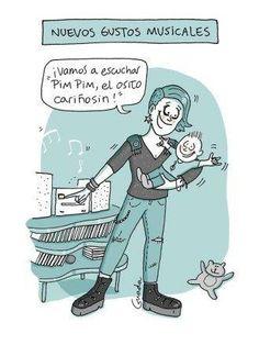 20 caricaturas de lo que nace con la maternidad ¡A reír en serio! - BabyCenter Mommy Humor, Baby Album, Baby Center, Mom Quotes, Baby Photos, Sons, Cartoons, Family Guy, Baby Shower