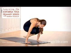 Ashtanga Yoga Primary Series: The Basic Jump Back with Maria Villella - YouTube