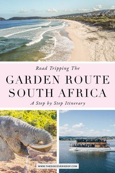 South Africa's Garden Route is just stunning! Planning a South Africa road trip along the Garden Route? This is what you need to know before you go. From Cape Town to hotspots such as Wilderness, Mossel Bay, Knysna and Addo Elephant National Park, these are the best things to do on the Garden Route. What to see, where to stay and a step by step Garden Route Itinerary #roadtrip #travel #southafrica #gardenroute