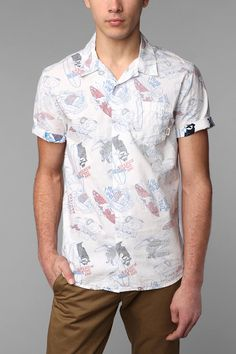 Vans Aloha Surf Kooks Shirt  #UrbanOutfitters