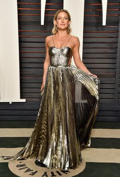 Kate Hudson in Maria Lucia Hohan at the 2016 Vanity Fair Oscar Party. Photo: Pascal Le Segretain/Getty Images.