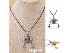Vestimentatie, Bijuterii, accesorii, pandantiv scorpion, imaginea 1 din 2
