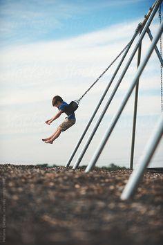 Swings by Melanie DeFazio #stocksy #realstock ♥ www.jsimens.com - helping families worldwide