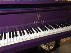 """BOOM (FROM LOTUSFLOWER) ON THIS NEWLY ARRIVED PURPLE PRESENT FROM YAMAHA...""""RESOUNDING!"""" - prince"""