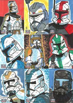 Topps Star Wars G7 - 15 Troops by JoeHoganArt.deviantart.com on @DeviantArt