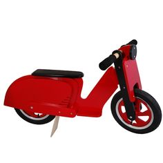 Training bike, Wood, Vespa, retro