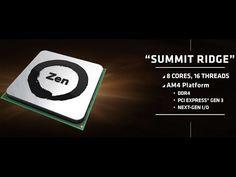AMD ZEN CPU Specs & Pricing Leaked
