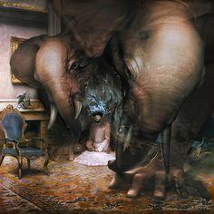 Astonishing Surreal Illustrations by Ryohei Hase