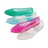 Jelly Shoes 80's style  ...omg I totallyremember wearing these! !