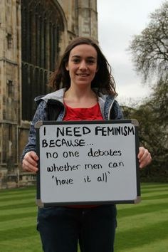 i need feminism because - Google Search