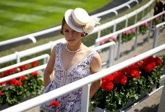 Ella McNeill during Ladies Day, on day three of the 2015 Royal Ascot Meeting at Ascot Racecourse