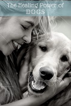 Dogs can sometimes go where humans can't when it comes to healing our traumas and improving our lives.