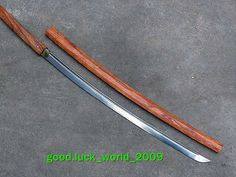"Japanese Shrine Ninja Sword Samurai Sword Katana Wood   ""Stick Sword"" popular after they were outlawed in Japan after 1847 I believe"