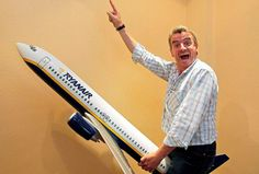 Michael O'Leary, CEO of Ryanair || Come Fly With Me: A guide to making the most of Ryanair on your year abroad || via ThirdYearAbroad