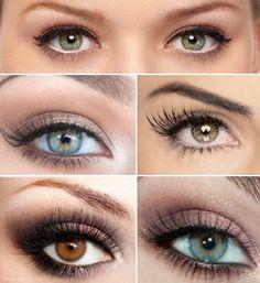 eye make-up for the wedding
