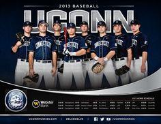 2013 UConn Baseball Poster