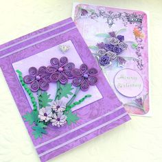 Quilling Greeting Cards Paper Quilled Sale by EnchantedQuilling, $7.50