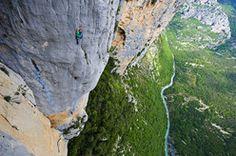 Verdon Gorge rock climbing in France - Planetmountain.com, climbing, News, mountaineering