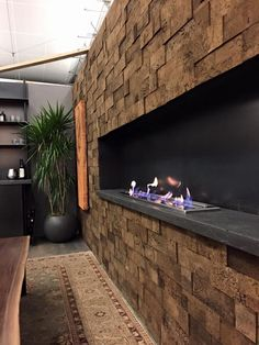 Stunning design elements custom fabricated by Artemis, surrounded by natural cork bricks...