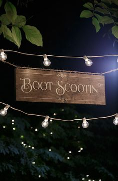Rustic Chic Wedding Boot Scootin' Wood Dance by UrbanFringeLiving