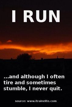 Running Motivation and an 8 Week Beginner Program designed to take you from the couch to running 30 minutes nonstop. Running Quotes, Running Motivation, Fitness Motivation, Running Posters, Track Quotes, I Love To Run, Just Run, Keep Running, Running Tips
