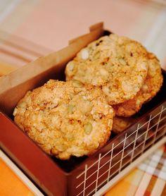 Cookie Desserts, Cookie Recipes, Dessert Recipes, Biscuit Cookies, No Bake Cookies, Bagan, Gluten Free Recipes, Baking Recipes, Bun Recipe
